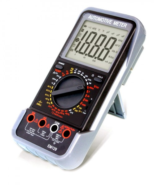 Příruční minimotortester / multimetr Automotive Meter EM 129